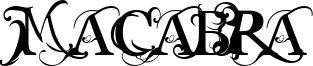 Macabra Font