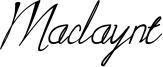 Maclaynt Font