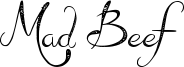 Mad Beef Font