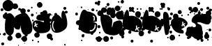 Mad Bubbles Font
