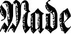 Made Font