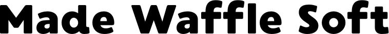 Made Waffle Soft Font