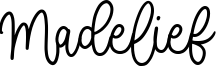 Madelief Font