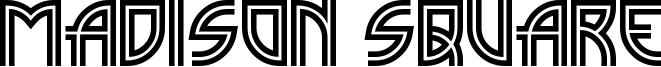 Madison Square Font
