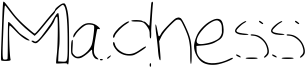 Madness Font