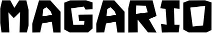 Magario Font