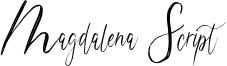Magdalena Script Font