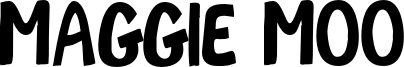 Maggie Moo Font