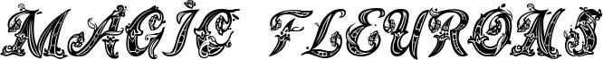 Magic Fleurons Font