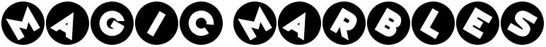 Magic Marbles Font
