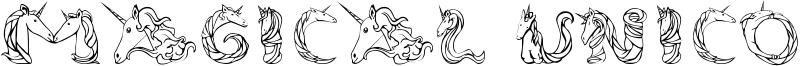 Magical Unicorn Font