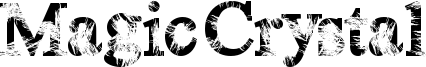 Magic Crystal Font