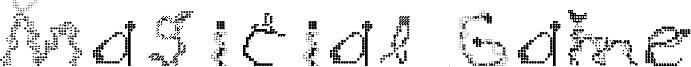 Magicial Game Font
