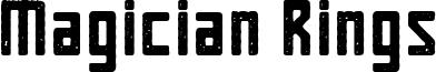 Magician Rings Font