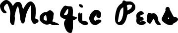 Magic Pens Font