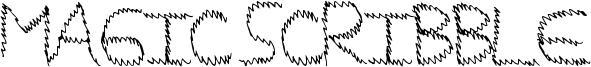 Magic Scribble Font