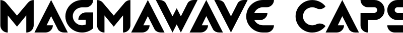 Magmawave Caps Font