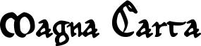 Magna Carta Font