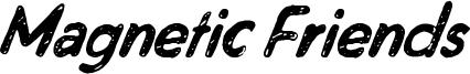 Magnetic Friends Font