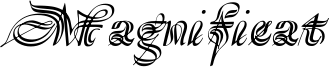 Magnificat Font