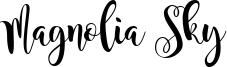 Magnolia Sky Font