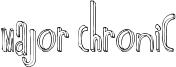 Major Chronic Font