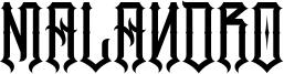 Malandro Font