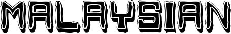 Malaysian Font