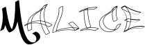 Malice Font