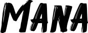 Mana Font