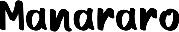 Manararo Font
