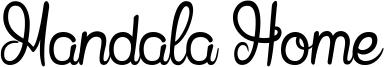 Mandala Home Font