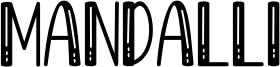 Mandalli Font