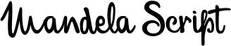 Mandela Script Font