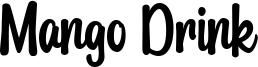 Mango Drink Font