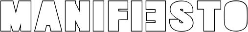 Manifiesto Font