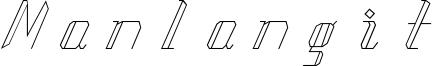 Manlangit Font