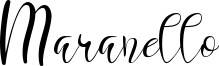 Maranello Font
