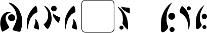 Mara's Eye Font