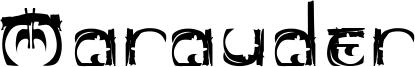Marauder Font