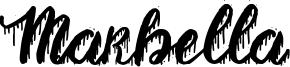 Marbella Font