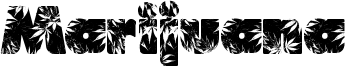 Marijuana Font