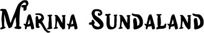 Marina Sundaland Font