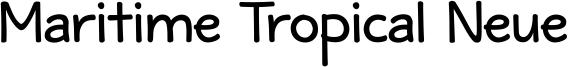 Maritime_Tropical_Neue_DSBold.ttf