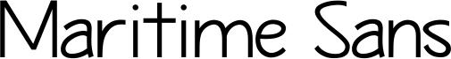 Maritime Sans Font
