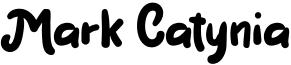 Mark Catynia Font