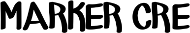 Marker Cre Font