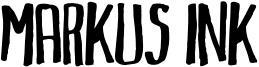 Markus Ink Font