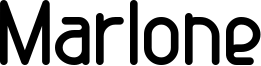 Marlone Font