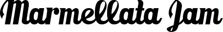 Marmellata Jam Font